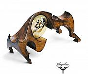 Legend  Sculptures - Mantel clock Europa by Matej Zorec