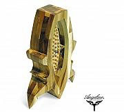 Spring Sculptures - Mantel clock Vesna by Matej Zorec