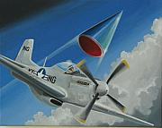 American Aviation Art - Mantell Incident by Stuart Swartz