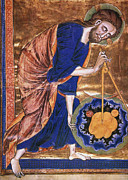 Manuscript Illumination Prints - Manuscript Illumination Print by Granger