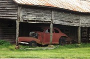 Old Barns Photo Originals - Many Bumpy Rides by Kathy Budd