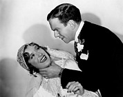Bride And Groom Prints - Many Happy Returns, Gracie Allen Print by Everett