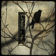 Abandoned  Digital Art - Many Shadows by Gothicolors With Crows
