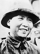 Revolutionaries Prints - Mao Zedong, Leader Of Communist Faction Print by Everett