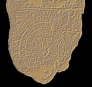 Old Earth Map Prints - Map Of Mesopotamia Print by Sheila Terry