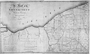 1798 Prints - Map: Western Reserve Print by Granger