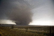 Tornado Prints - Mapleton Wedge Tornado Print by Jennifer Brindley