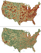 Mapping Photos - Mapping Spread Of Infectious Disease by Nasa