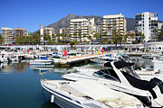 Residential Prints - Marbella Harbour Print by Artur Bogacki