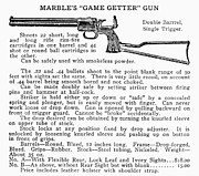 Marbles Game Getter Gun Print by Granger