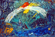 Flood Art Photo Prints - Marc Chagall Print by Granger