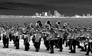 Marching Band Framed Prints - March On Framed Print by David Lee Thompson