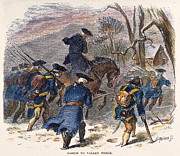 Bayonet Prints - March To Valley Forge, 1777 Print by Granger