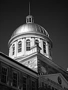 Gebaeude Metal Prints - Marche Bonsecours  Metal Print by Juergen Weiss