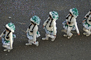 March Photos - Marching in a row - German Carnival procession by Matthias Hauser