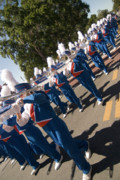 Marching Band Prints - Marching Print by JD Wright