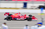 Indy Car Prints - Marco Andretti at Toronto Indy Print by Jarvis Chau
