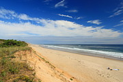 National Seashore Photos - Marconi Beach Cape Cod National Seashore by John Burk