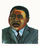 Journalist Drawings Framed Prints - Marcus Mosiah Garvey Framed Print by Emmanuel Baliyanga