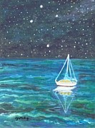 Constellation Paintings - Marcys Dream by Paintings by Gretzky