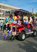 Metairie Photos - Mardi Gras Clowning by Steve Harrington