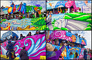 Metairie Framed Prints - Mardi Gras Fun Framed Print by Steve Harrington