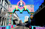 Galveston Metal Prints - Mardi Gras in Galveston Metal Print by Thomas R Fletcher