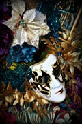 Masks Photos - Mardi Gras Mask of Me by Amanda Eberly-Kudamik
