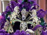 Highsmith Prints - Mardi Gras Zulu King - New Orleans Louisiana Print by Carol M Highsmith