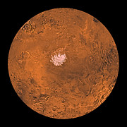 Astrogeology Photos - Mare Australe Region Of Mars by Stocktrek Images