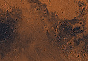 Astrogeology Photos - Mare Tyrrhenum Region Of Mars by Stocktrek Images