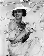 Ruffled Dress Prints - Margaret Sullavan, 1934 Print by Everett