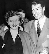 Truman Photos - Margaret Truman And Joe Dimaggio by Everett