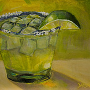 Bartender Paintings - Margarita by Sue  Darius