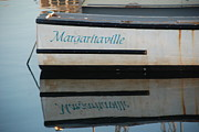 Buffet Posters - Margaritaville Boat Poster by Richard Bryce and Family