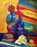 Calla Paintings - Margaritaville by Candy Mayer