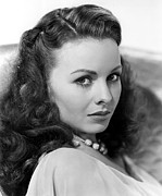 1946 Movies Metal Prints - Margie, Jeanne Crain, 1946 Metal Print by Everett
