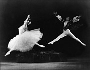 Weightless Prints - Margot Fonteyn 1919-1991, And Alexis Print by Everett