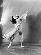 Ballet Dancers Prints - Margot Fonteyn 1919-1991 And Michael Print by Everett