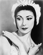 Ballet Dancers Photo Metal Prints - Margot Fonteyn 1919-1991 In 1960, When Metal Print by Everett