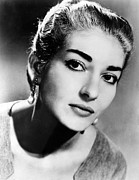 Maria Callas, 1958. Courtesy Csu Print by Everett