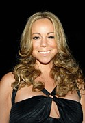 Mariah Carey Prints - Mariah Carey At Arrivals For 2008 Print by Everett
