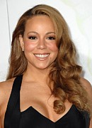 Mariah Carey Prints - Mariah Carey At Arrivals For Afi Fest Print by Everett
