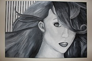 Singer Painting Originals - Mariah Carey by Nicole Caruso