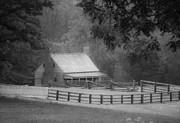 Mariah Wright House Appomattox Virginia Print by Teresa Mucha