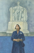 Lincoln Pastels - Marian Anderson by Robert Casilla
