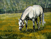 Thoroughbred Race Paintings - Marias Mon by Thomas Allen Pauly