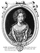 Duchess Framed Prints - Marie-angÉlique De Rousille Framed Print by Granger