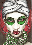 Voodoo Prints - Marie Laveau Print by Shayne of the  Dead