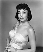 1950s Hairstyles Prints - Marie Windsor, 1955 Print by Everett
